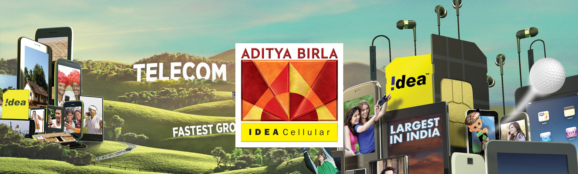 idea cellular l... Idea 3g Logo