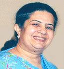 Mrs. Rajashree Birla, Chairperson of The Aditya Birla Centre for Community Initiatives and Rural Development